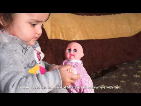 Qamar: a child with a child
