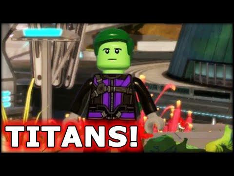 LEGO Marvel Superheroes 2 Teen Titans! Customs!