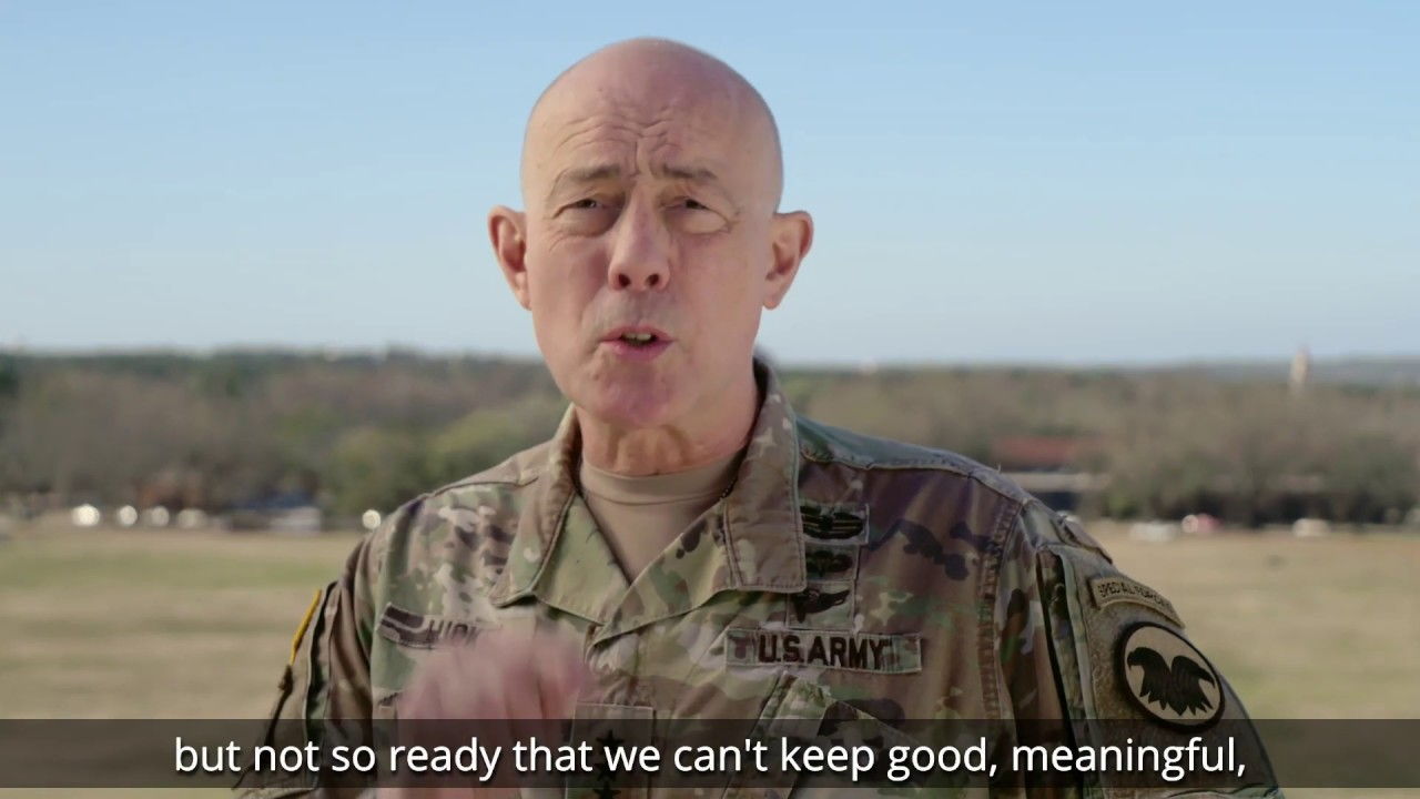 Lt. Gen. Charles D. Luckey welcomes the new year and talks about the exciting things ahead for America's Army Reserve.