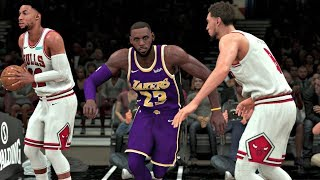 NBA 2K20 Gameplay - Los Angeles Lakers vs Chicago Bulls - NBA 2K20 PS4
