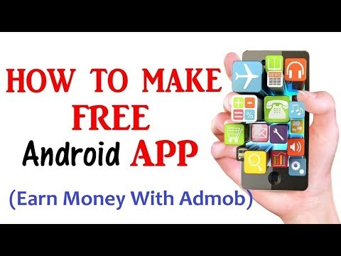 How to Make a Android apps without coding and Earn money with ads