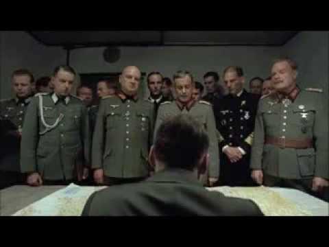 Hitler's reaction to