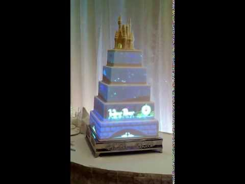 Disney fairy princess wedding cake will amaze you!!!