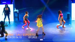 Being - Lali Esposito (Salta 20.06.15)
