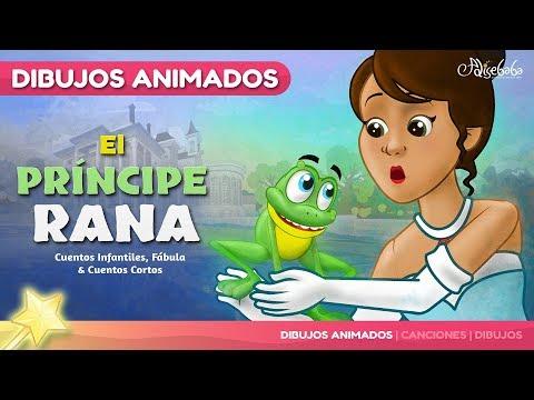 El Príncipe Rana cuento para niños | Cuentos infantiles en Español | dibujos animados