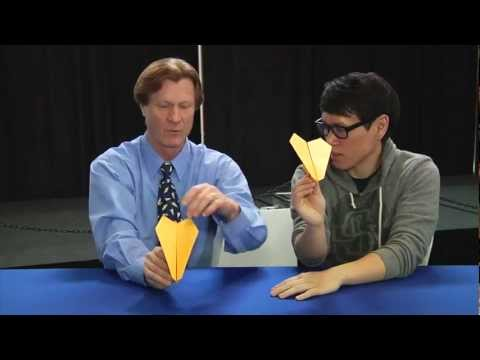 How To Fold and Tweak a Great Paper Airplane