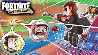 NEW SNIPERS VS SHOPPING CARTS CUSTOM GAME! (Fortnite Playground Mode Funny Moments)