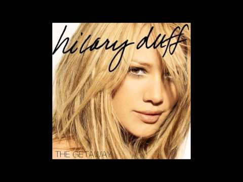 Hilary Duff - The Getaway Karaoke / Instrumental with backing vocals and lyrics