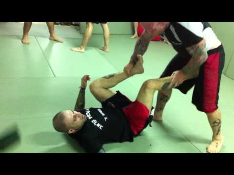 Haim Gozali and Jeff Monson Grappling Rolling Before the IFC Image 1