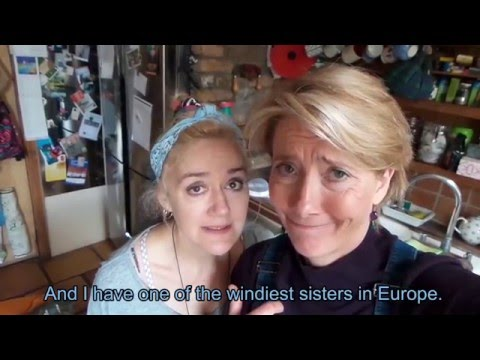 Fracking: Emma and Sophie Thompson's cunning plan...