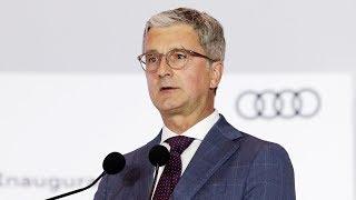 Audi CEO arrested in Volkswagen emissions investigation