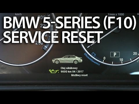 06 bmw 530xi oil reset