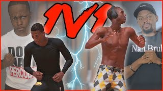 My ANNOYING Little Brother Called Me Out To A MyCourt 1v1 (NBA 2K19 MyCourt)