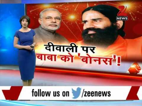 PM Modi, Ramdev bond over Clean India