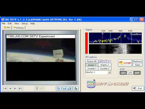 SSTV Martin 1 Mode