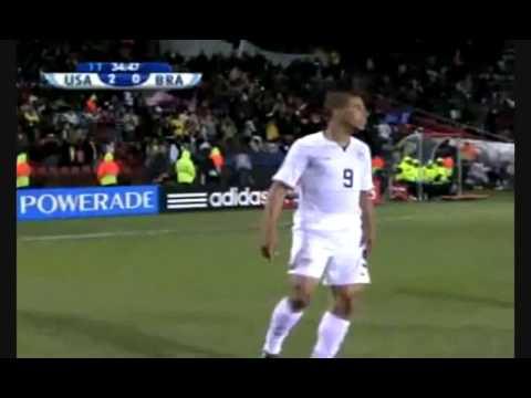 Brasil:Confederations Cup 2009- USA 2 - BR-3 -pela final da Copa das Confederações