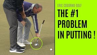 GOLF: The #1 Problem In Putting - Good Putters Vs.  Bad Putters