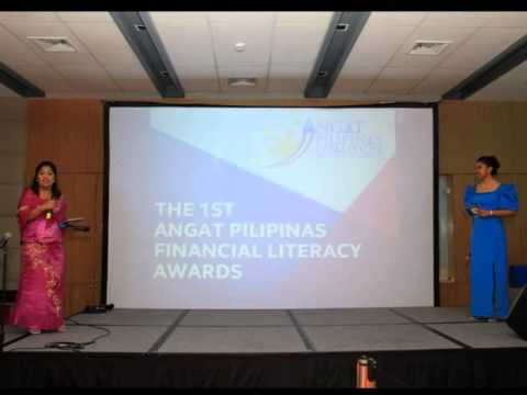 Angat Pilipinas Financial Literacy Awards Night