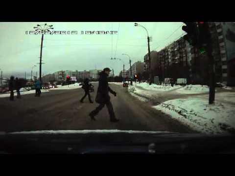 Пешеходы с хорошей реакцией