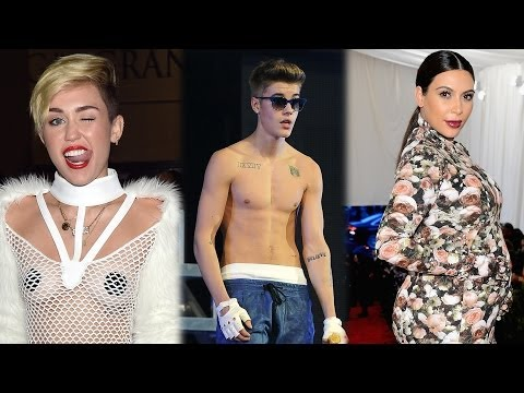 Miley Cyrus, Justin Bieber, Kim Kardashian - WORST DRESSED CELEBRITIES!