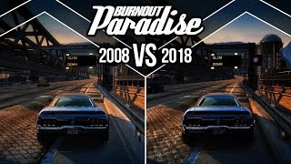 Burnout Paradise vs Remastered - Graphics Comparison