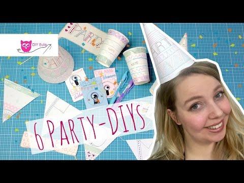 Neue Wohnung! 6 einfache Party-DIYs für die Einweihungsfeier