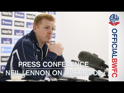 PRESS CONFERENCE | Neil Lennon on Liverpool