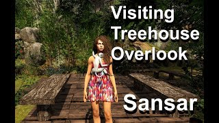 Visiting Treehouse Overlook  | SANSAR