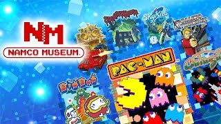 Namco Museum (Switch) - Part 1 - PAC-MAN & Galaga (No Commentary)