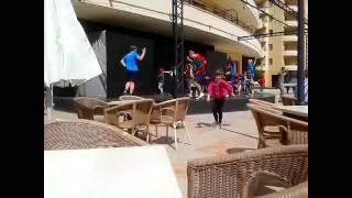 Alltours Clubtanz Osterferien 2012 Im Allsun Orient Beach ****+ In Sa Coma Mallorca