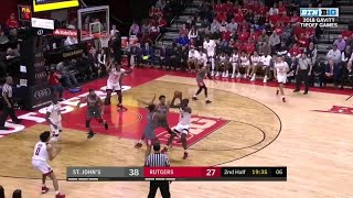 Highlights: St. John's at Rutgers | Big Ten Basketball