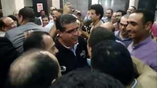 بالفيديو فوز جمال حسين ورفعت رشاد وفهمي مرسي وأحمد مصطفي بمجلس إدارة أخبار اليوم