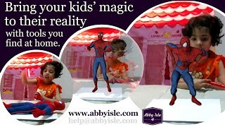 Bring your child's magic to their reality [Kids' Activity - Make Movie-like Special Effects @ home]