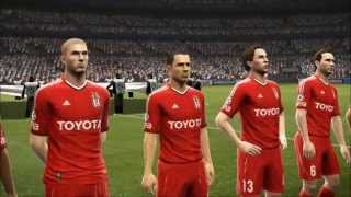 Pes 2013 Beşiktaş - Real Madrid (Champions Leauge Final Match)
