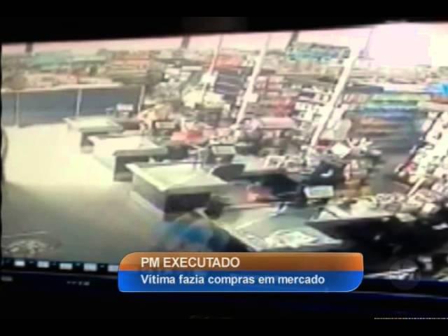 SP: Policial militar à paisana é executado dentro de mercado