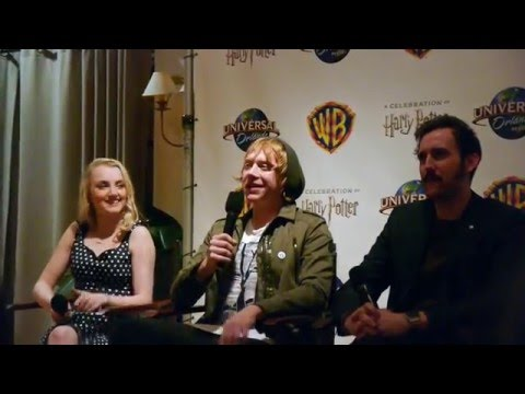 "Harry Potter stars share memories of Alan Rickman at ""Celebration"" 2016 Universal Orlando event"