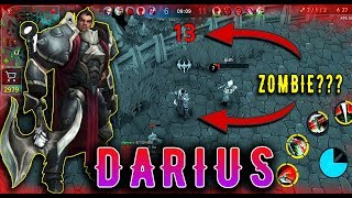 [Mobile League] Darius - WTF Bug Game, Zombie 16 Kills   Top Gameplay
