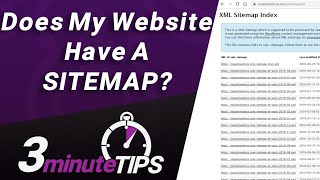 Does My Website Have a Sitemap? How to Check for a Sitemap on your site
