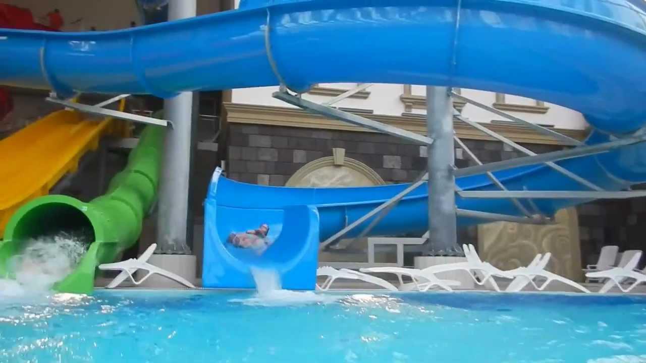 Аквапарк карибия фото детских горок