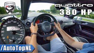 AUDI A1 QUATTRO 380HP MTM   AUTOBAHN Test Drive by AutoTopNL