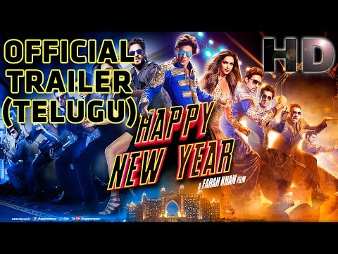 Happy New Year | Official Trailer (Telugu) | Shah Rukh Khan |...