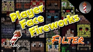 Player Face Fireworks (MCEdit-Filter) - Minecraft Fireworks