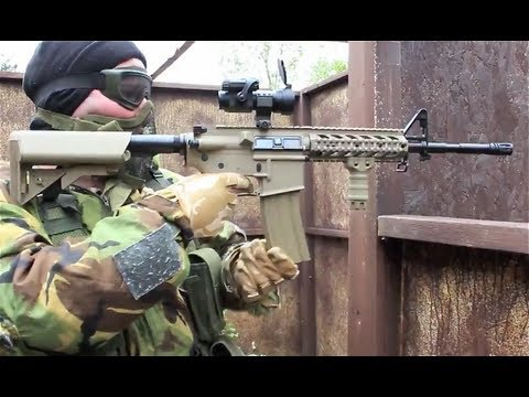 Airsoft War G&P M4 AK47. FN 5-7 Pistol