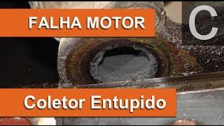 Dr CARRO Falha Motor e Alto consumo - Coletor Escape Obstruído
