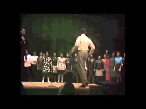 "Skyline High School Gospel Choir 1990-""I'll Make It"" Althea Battle"