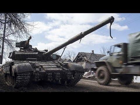 أوكرانيا: المتمردون الموالون لروسيا يسحبون أسلحة ثقيلة شرقي أوكرانيا