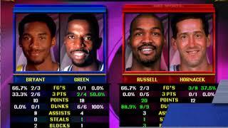 NBA Showtime NBA On NBC Gold Edition (Los Angeles Lakers) - ARCADE - MAME 0.210 emulator