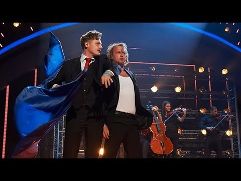 Brynolf and Ljung magicians - Britain's Got Talent 2012 Live Semi Final - UK version