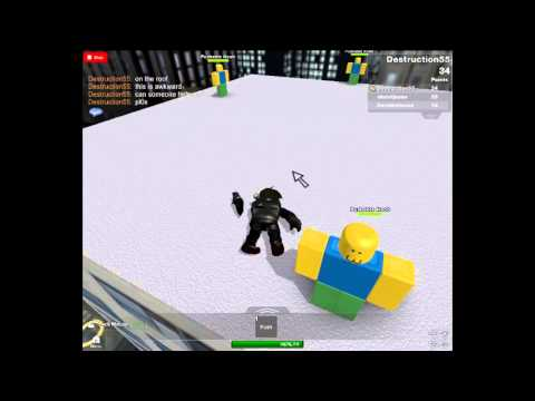 ROBLOX: This wasn't supposed to happen (funny roblox accident)!