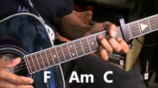 Tove Lo HABITS (Stay High) Easy Capo 5 Guitar Lesson Tutorial EricBlackmonMusicHD